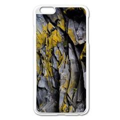 Grey Yellow Stone  Apple Iphone 6 Plus/6s Plus Enamel White Case