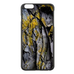 Grey Yellow Stone  Apple Iphone 6 Plus/6s Plus Black Enamel Case