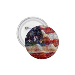 Grunge United State Of Art Flag 1.75  Buttons