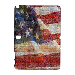 Grunge United State Of Art Flag Galaxy Note 1