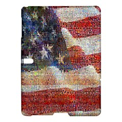 Grunge United State Of Art Flag Samsung Galaxy Tab S (10.5 ) Hardshell Case