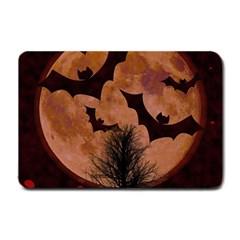 Halloween Card Scrapbook Page Small Doormat