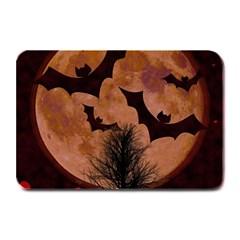 Halloween Card Scrapbook Page Plate Mats