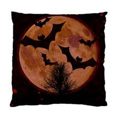 Halloween Card Scrapbook Page Standard Cushion Case (one Side)