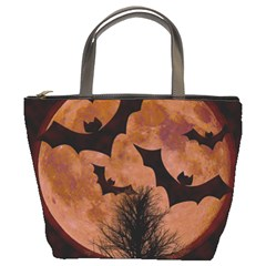 Halloween Card Scrapbook Page Bucket Bags