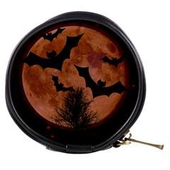 Halloween Card Scrapbook Page Mini Makeup Bags