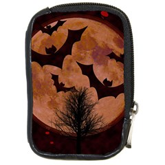 Halloween Card Scrapbook Page Compact Camera Cases