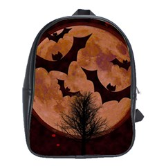 Halloween Card Scrapbook Page School Bags(Large)