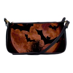 Halloween Card Scrapbook Page Shoulder Clutch Bags