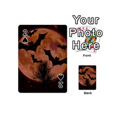 Halloween Card Scrapbook Page Playing Cards 54 (Mini)