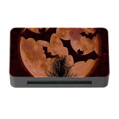Halloween Card Scrapbook Page Memory Card Reader with CF