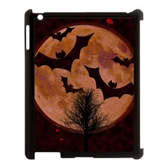 Halloween Card Scrapbook Page Apple Ipad 3/4 Case (black)