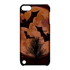 Halloween Card Scrapbook Page Apple iPod Touch 5 Hardshell Case with Stand