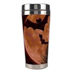 Halloween Card Scrapbook Page Stainless Steel Travel Tumblers