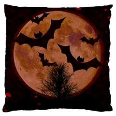Halloween Card Scrapbook Page Standard Flano Cushion Case (One Side)