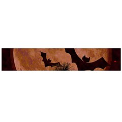 Halloween Card Scrapbook Page Flano Scarf (Large)