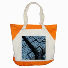 Grid Maths Geometry Design Pattern Accent Tote Bag