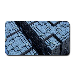 Grid Maths Geometry Design Pattern Medium Bar Mats