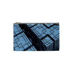 Grid Maths Geometry Design Pattern Cosmetic Bag (Small)