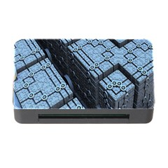 Grid Maths Geometry Design Pattern Memory Card Reader With Cf