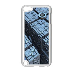Grid Maths Geometry Design Pattern Apple iPod Touch 5 Case (White)