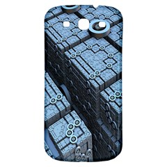 Grid Maths Geometry Design Pattern Samsung Galaxy S3 S Iii Classic Hardshell Back Case