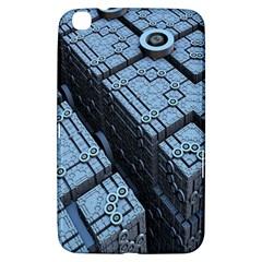 Grid Maths Geometry Design Pattern Samsung Galaxy Tab 3 (8 ) T3100 Hardshell Case