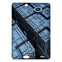 Grid Maths Geometry Design Pattern Amazon Kindle Fire Hd (2013) Hardshell Case