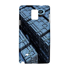 Grid Maths Geometry Design Pattern Samsung Galaxy Note 4 Hardshell Case