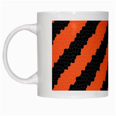 Halloween Background White Mugs