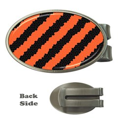 Halloween Background Money Clips (Oval)