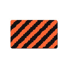 Halloween Background Magnet (name Card)