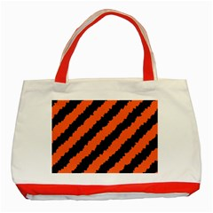 Halloween Background Classic Tote Bag (Red)