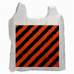 Halloween Background Recycle Bag (two Side)