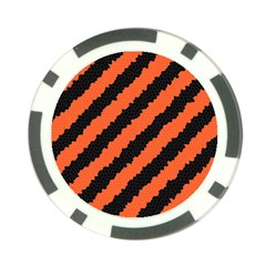 Halloween Background Poker Chip Card Guard (10 pack)