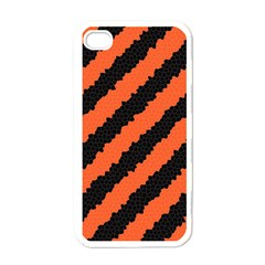 Halloween Background Apple iPhone 4 Case (White)