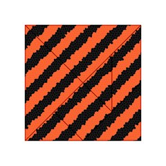 Halloween Background Acrylic Tangram Puzzle (4  x 4 )