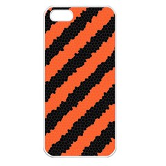 Halloween Background Apple iPhone 5 Seamless Case (White)