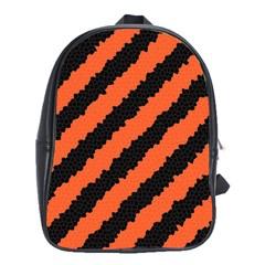 Halloween Background School Bags (XL)