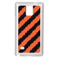Halloween Background Samsung Galaxy Note 4 Case (White)