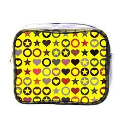 Heart Circle Star Mini Toiletries Bags