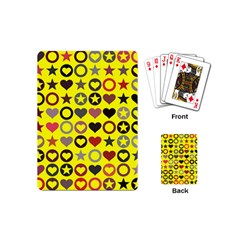 Heart Circle Star Playing Cards (Mini)