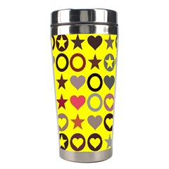 Heart Circle Star Stainless Steel Travel Tumblers