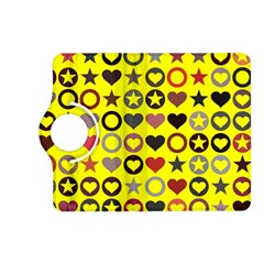 Heart Circle Star Kindle Fire Hd (2013) Flip 360 Case