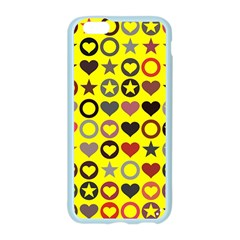 Heart Circle Star Apple Seamless iPhone 6/6S Case (Color)