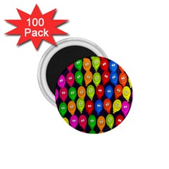 Happy Balloons 1 75  Magnets (100 Pack)