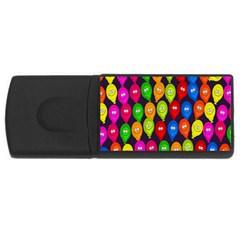 Happy Balloons USB Flash Drive Rectangular (2 GB)