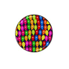 Happy Balloons Hat Clip Ball Marker