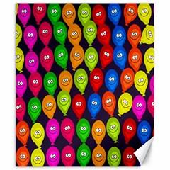 Happy Balloons Canvas 20  x 24