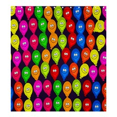 Happy Balloons Shower Curtain 66  x 72  (Large)